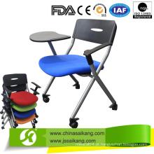 Cadeira de Treinamento de Alta Qualidade / Cadeira de Reunião com Almofada de Escrita