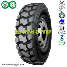 Räder Schwere Lkw-Reifen Bergbau Lkw-Reifen vor der Straße Reifen (11.00R20, 12.00R20, 14.00R20, 14.00R24)