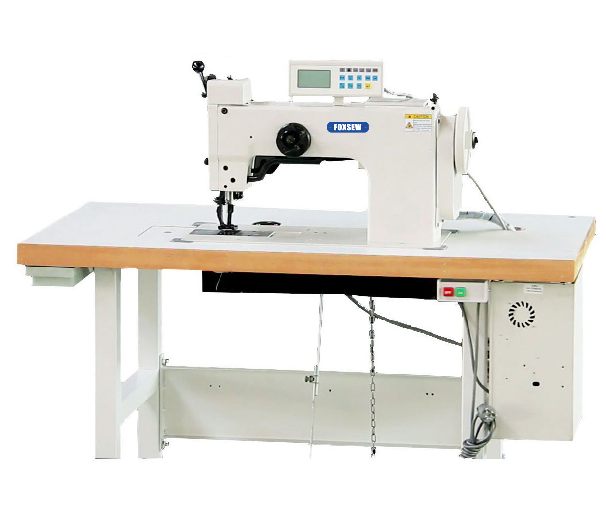 KD-204-106S Single Needle Heavy Duty Thick Thread Ornamental Decorative Stitch Sewing Machine