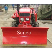 Dozer Plough on Farm Tractor