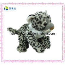 Small Plush Leopard Keychain Animal Toy