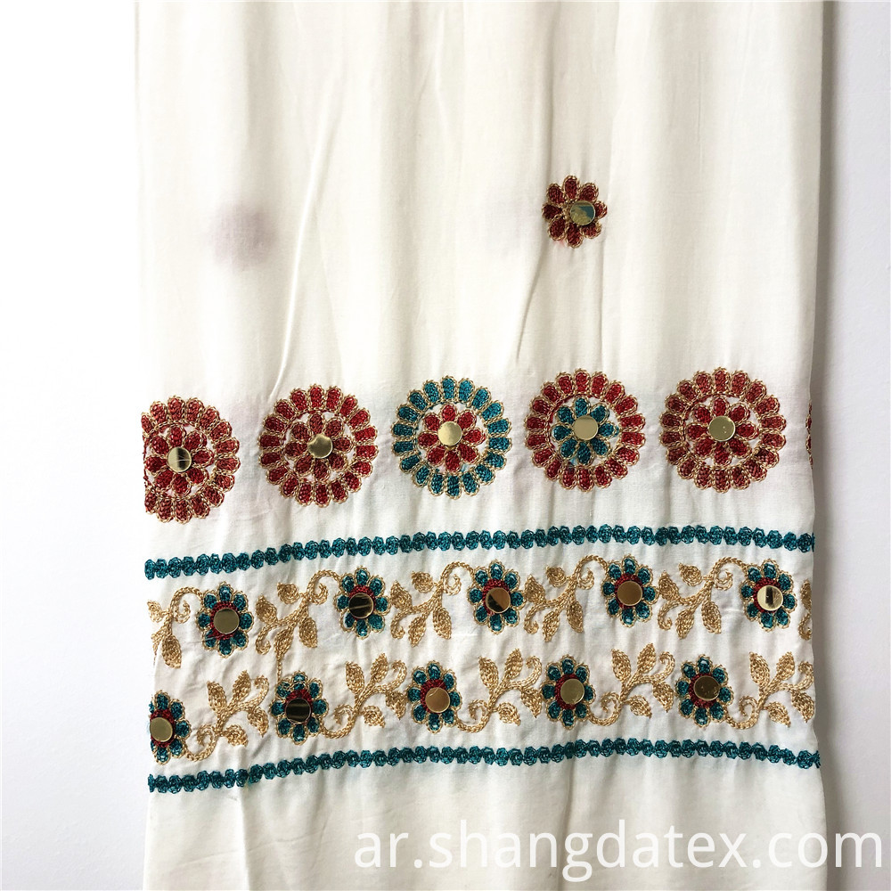 Rayon Pain With Ethnic Embroidery Design
