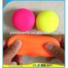 Juguetes coloridos de la bola del estiramiento del nuevo diseño de la alta calidad para los cabritos
