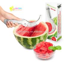 Rebanadora de sandía - Corta y sirve el melón fresco rápidamente. Es el mejor cortador y afilador de fruta. Todo en una impresionante herramienta de cocina.