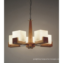 Home Wooden Hanging Lamp (N-019S-5)