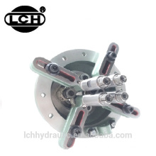steering unit of wood machine and ground drilling machine