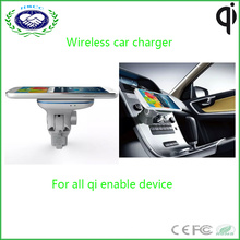 Hot Selling Car Mobile Charger Wireless Phone Charger for iPhone and Samsung