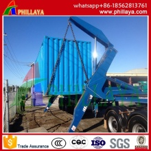 3 Axles Semi Side Loader Container Trailer