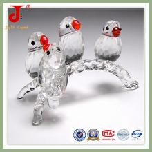 Ornamento de pássaro de cristal europeu (jd-ca-107)