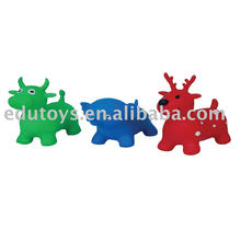 Inflatable Jumping Animal Toy