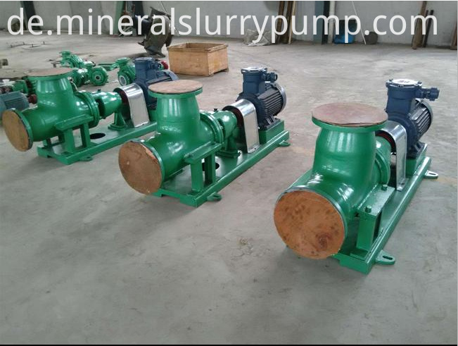 FJX Axial Flow Evaporation Circulating Pump 1.FJX Axial Flow Evaporation Circulating Pump 2.Capcity:800-10000m3/h 3.Delivery lift:2-8m 4.Diameter:350-900mm 5.Working pressure:under 0.6MPa 1 Summarize: Integrated advantages of evaporation circulating pump both at home and abroad, we have developed FJX axial flow evaporation circulating pump, widely applied for evaporation, crystallizing, chemical reaction in the fields of chemical industry, nonferrous metallurgical, salt making, light industry, its typical application is as follows. * Phosphate fertilizer plant:forced circulation for wet phosphoric acid concentration plant and AP slurry concentration plant. * Bayer processing Alumina plant:forced circulation for sodium aluminate evaporator. * Diaphragm caustic soda plant:forced circulation for caustic soda (including NaCl) evaporator. * Vacuum salt:forced circulation for NaCl crystallizer. * Mirabilite plat:forced circulation for Na2SO4 crystallizer. * Hydrometallurgy plant:forced circulation for copper sulfate and nickel sulfate crystallizer. * Combination soda plant:forced circulation for cold separation crystallizer of ammonia chloride, salting out crystallizer of ammonia mother liquor. * Pure soda plant:recovery of ammonium waste liquid, forced circulation for CaCl2 evaporator. * Paper making factory:forced circulation for black liquor concentrator. * Power plant:forced circulation for flue gas desulfurization, coking plant, Ammonium sulfate crystallizer of chemical fiber factory. * Light industry:forced circulation for condensate alcohol, evaporation of citric acid, evaporation of sugar solution.