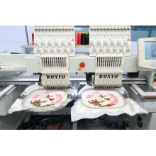Double Heads Industry Computerized Embroidery Machine for Caps