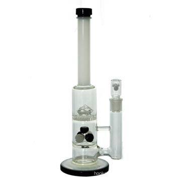 5 Душевые лейки Honeycomb Dolphins Стеклянная водопроводная трубка для курения (ES-GB-442)