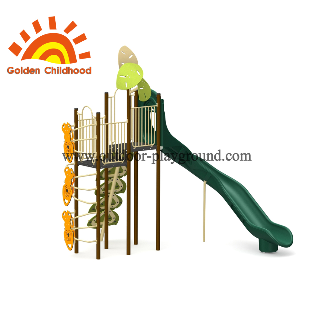 Natural Leaves Outdoor Play Structure