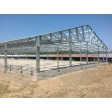 Недорогая сборная стальная конструкция склада