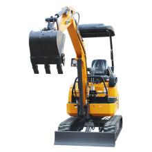 Mini escavadeira de esteira rolante de 1,8 toneladas
