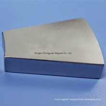 Neodymium Magnet for Windpower with Zn Coating