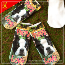 2015 Cute Animal Pattern 3D Print Sock