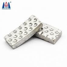 Hot pressing Fast Drilling Groove Dot  Diamond Core Drill Bit Segment
