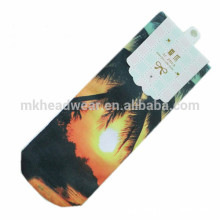 Laser Printing Cotton Knitted Custom Fashion Socks for Wholesale
