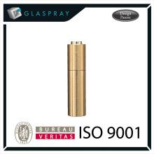 SCALA CNC Twist and Spray 20ml Embalagem perfumada de perfume de ouro escovado