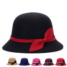 Мода дамы зимний теплый хлопок вязаный ковш Hat (YKY3243)