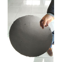 Núcleo de favo de mel de alumínio em forma redonda