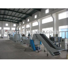 Mineral water bottle PET recycling line