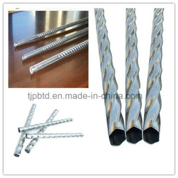 Q235 Ms Bar Square Stainless Steel Twisted Bar
