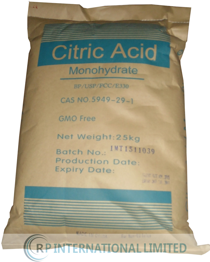 Citric Acid Monohydrate BP/USP/E330