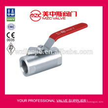 Forged 1PC Wide Type Stainless Steel 316 Ball Valves