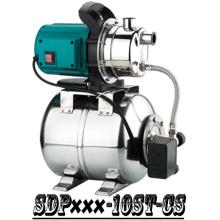 (SDP800-10S-CS) Garden Self-Priming Jet Booster Pump with Steel Tank