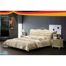 Modern Design Leather Bed, Bedroom Furniture, Bed (J322)