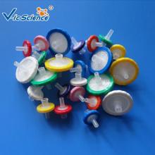 Filtre de seringue jetable en nylon PTFE stérile