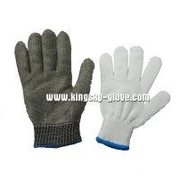 Edelstahl-Metallgewebe Anti-Cut-Handschuh-2351