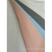 Филигранная ткань в рубчик с цифровой печатью