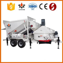 Mobile full automatic concrete mixing plant for sale