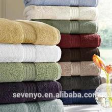 Hohe Qualität 100% Baumwolle 600GSM Frottee Hotel Badezimmer Badetuch, mehrere Farben BtT-148 China-Lieferanten