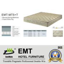 Colchão de cama para quarto de hotel estrela (EMT-MT5 + T)