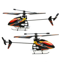 4 channel rc helicopter 2.4G 4CH Single Blade wl toys Gyro RC MINI Outdoor r/c copter With LCD and 2 Batteries v911 helicopter