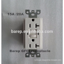 Duplex receptacle GFCI universal socket brand of electrical outlet