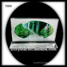 Cristal de foto de impressão colorida Y009