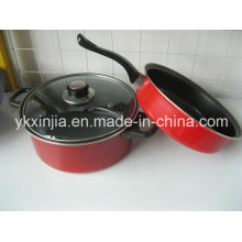 Carbon Steel Non-Stick Coating Cookware Set Kitchenware