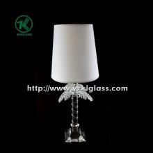 Одинарный стеклянный подсвечник для столовой посуды с лампой (11 * 9 * 28)