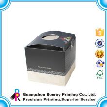 Offset Printing Hard Art Paper Embalaje simple de la caja de la vela de Matt