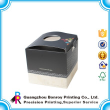 Offset Printing Hard Art Paper Simple Matt Candle Box Packaging