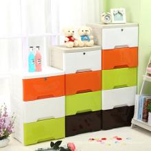 Plastic Colorful Storage Drawer Cabinet (FL-155)