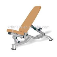 Тренажерный зал оборудование / сумасшедший Fit вибрации пластины/Мульти Регулируемая скамья(XR9937)