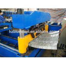 Metall Aluminium verzinkt Stahl Dach Blech Crimpmaschine Preis, Metall Dach Panel Bend Maschine zum Verkauf