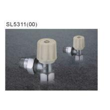 Válvula reguladora de radiador cromado de latão